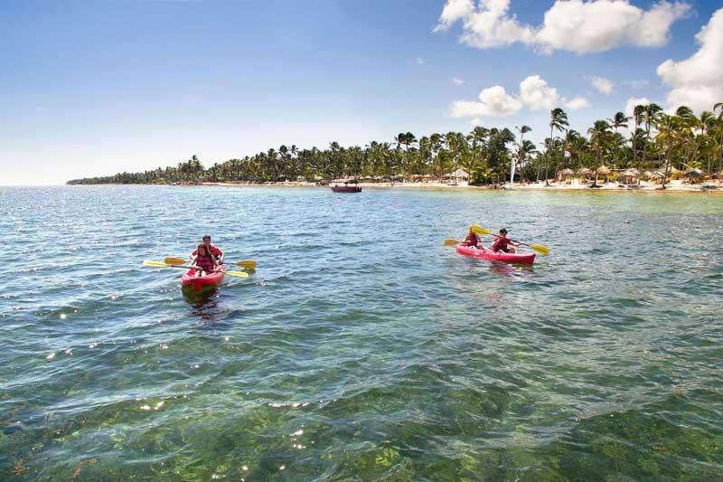 Kayaking @ Catalonia Punta Cana - Cabeza del Toro Beach - Punta Cana, Dominican Republic