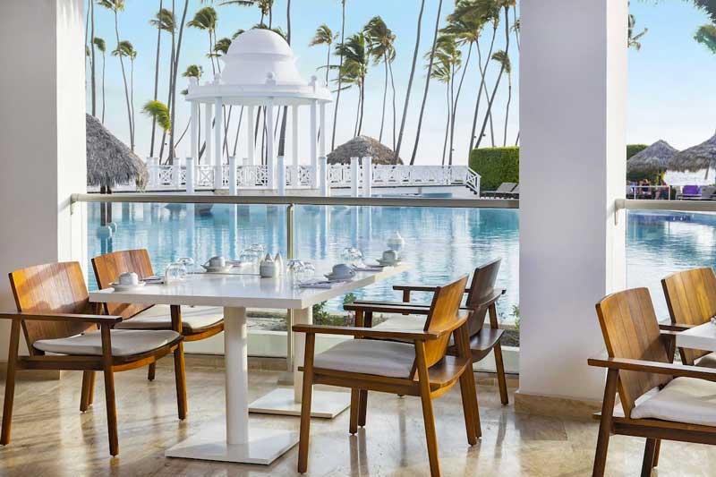 Dining by the Pool - Paradisus Palma Real Golf & Spa Resort