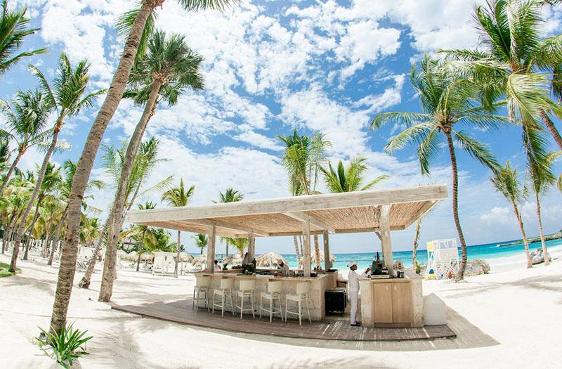 Beach bar @ Caleton Beach - Cap Cana, Punta Cana, Dominican Republic