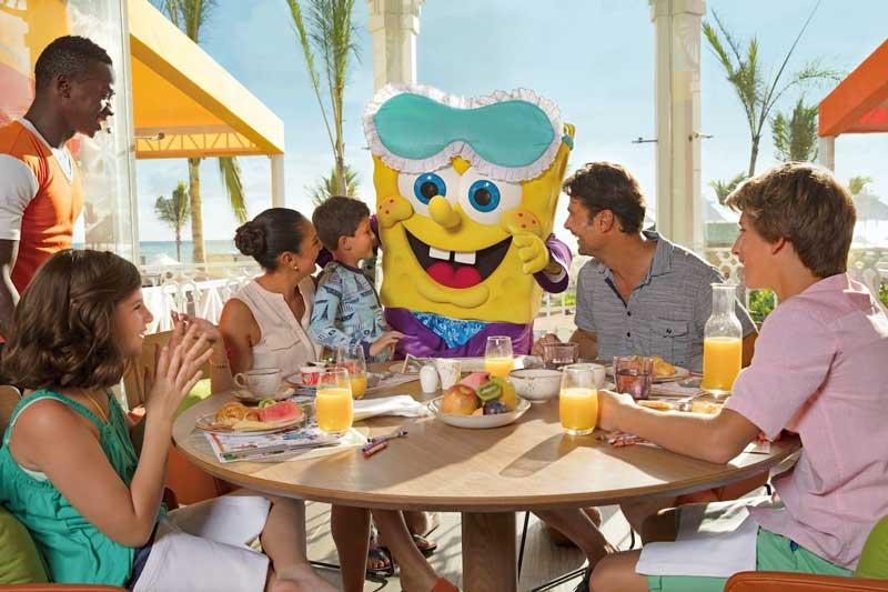 Character Dinner - Nickelodeon Punta Cana - Uvero Alto Beach, Dominican Republic