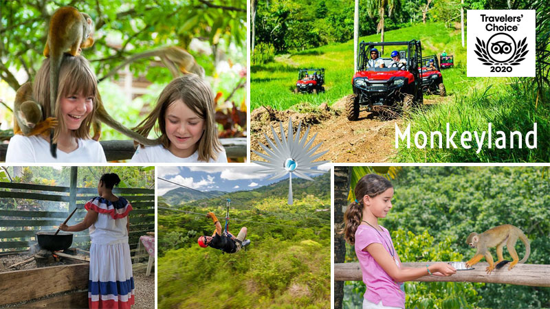 Monkeyland - Attractions in Punta Cana, Dominican Republic