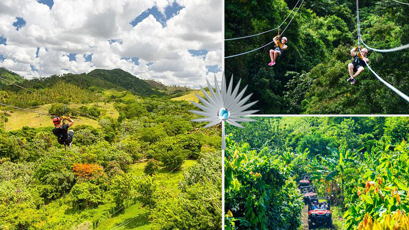 Ziplining - Top Things to in Punta Cana, Dominican Republic