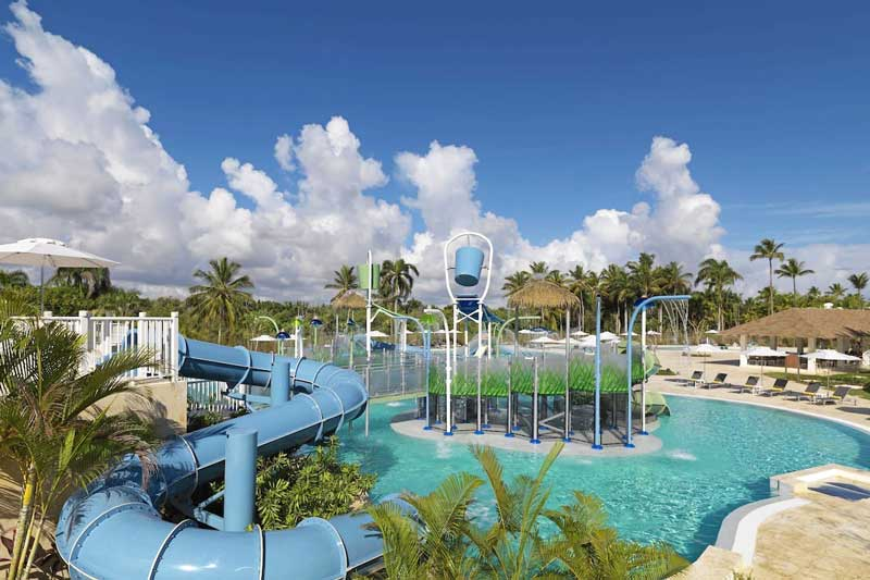 Waterpark / Pool Playground Melia Caribe Beach - Punta Cana, Dominican Republic