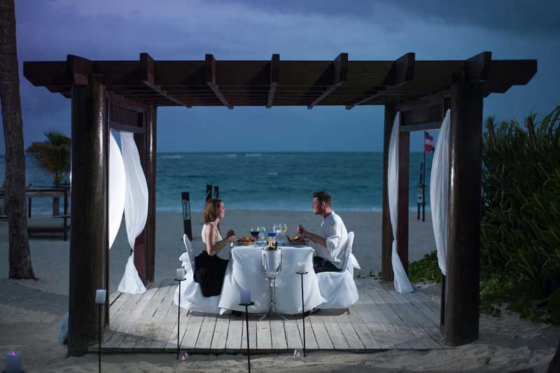 Romantic Beach Dinner - The Punta Cana Princess - Bavaro Beach, Punta Cana, Dominican Republic
