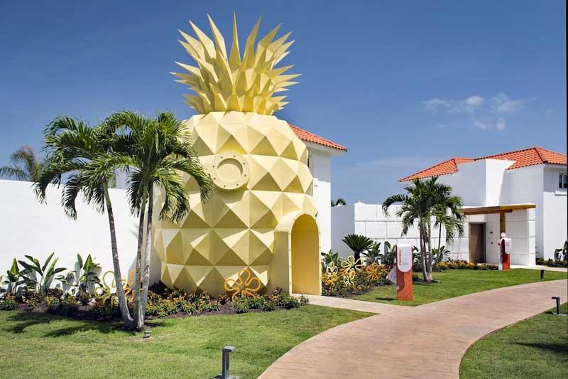 Spongebob Squarepants - Nickelodeon Punta Cana - Uvero Alto Beach, Dominican Republic