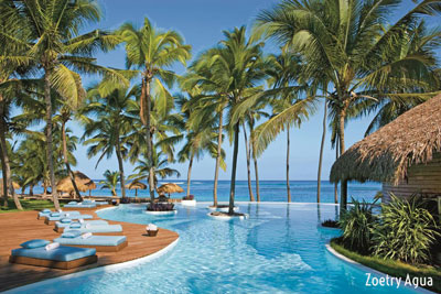 Relax at Uvero Alto Beach - Punta Cana, Dominican Republic - Photo: Zoetry Agua
