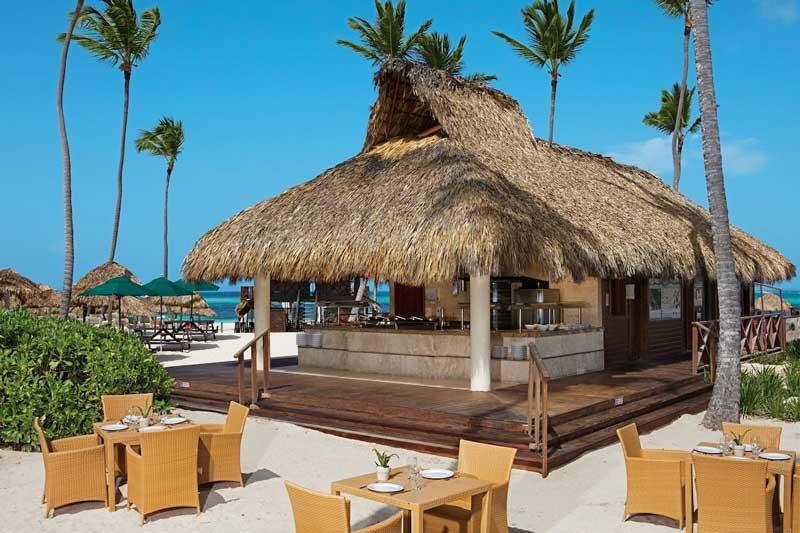 Beach Bar - Bavaro Beach - Secrets Royal Beach Punta Cana - Punta Cana, Dominican Republic