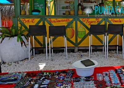 Beach bar at Macao Beach - Punta Cana, Dominican Republic