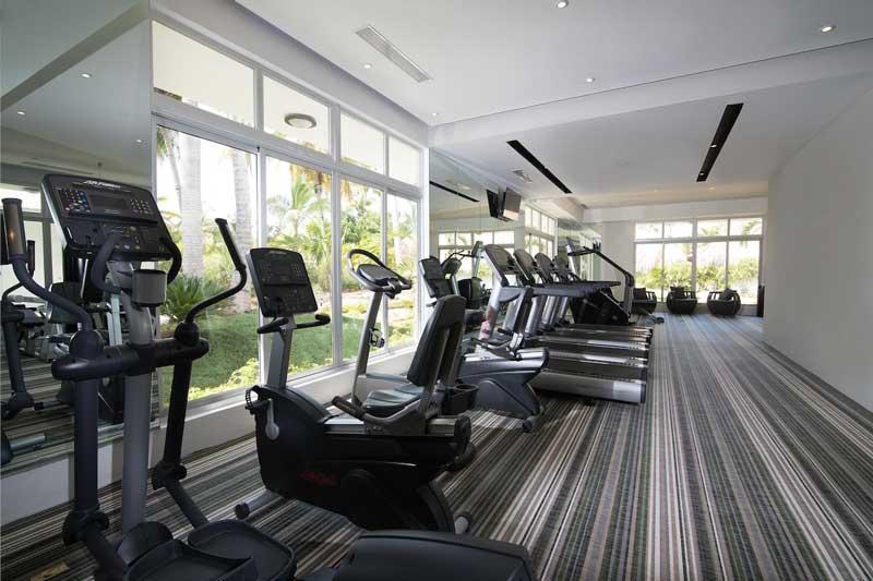 Fitness Center - Melia Caribe Beach - Punta Cana, Dominican Republic