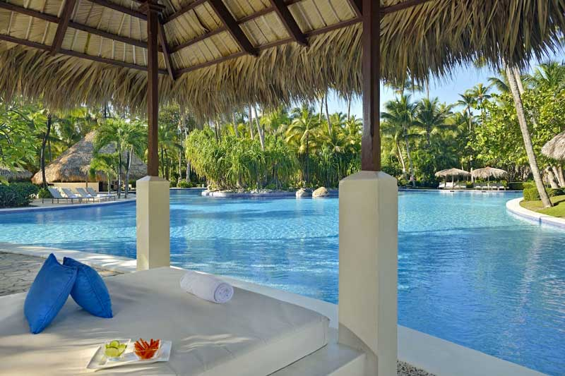 One of the Pools - Paradisus Punta Cana Resort - Punta Cana, Dominican Republic