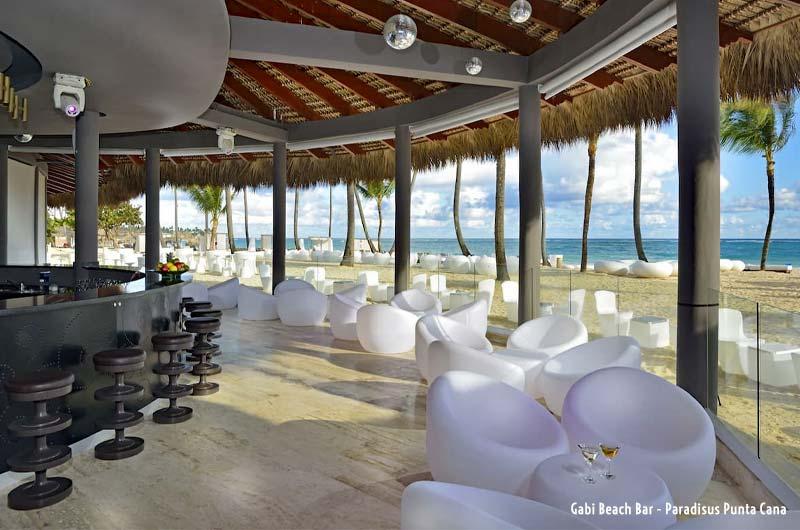 Gabi Beach Bar @ Paradisus Punta Cana Resort - Punta Cana, Dominican Republic