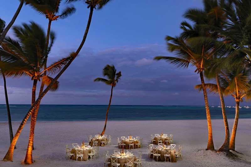 Beach Wedding - Melia Caribe Beach - Punta Cana, Dominican Republic