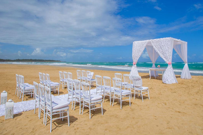 Beach Wedding - Le Sivory Punta Cana - Punta Cana, Dominican Republic