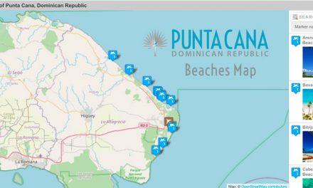 Punta Cana Beaches Map – Dominican Republic