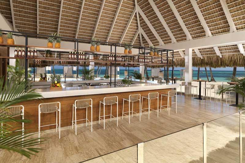 Beach Bar - Restaurant - Melia Caribe Beach - Punta Cana, Dominican Republic