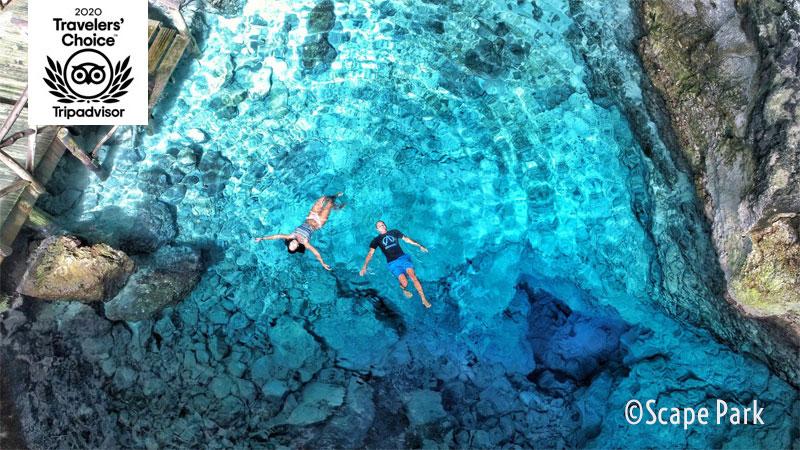 Hoyo Azul (Blue Hole) - Scape Park - - Punta Cana, Dominican Republic