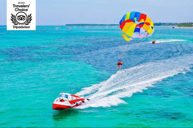 Parasailing in Punta Cana Tours by Power Adventures