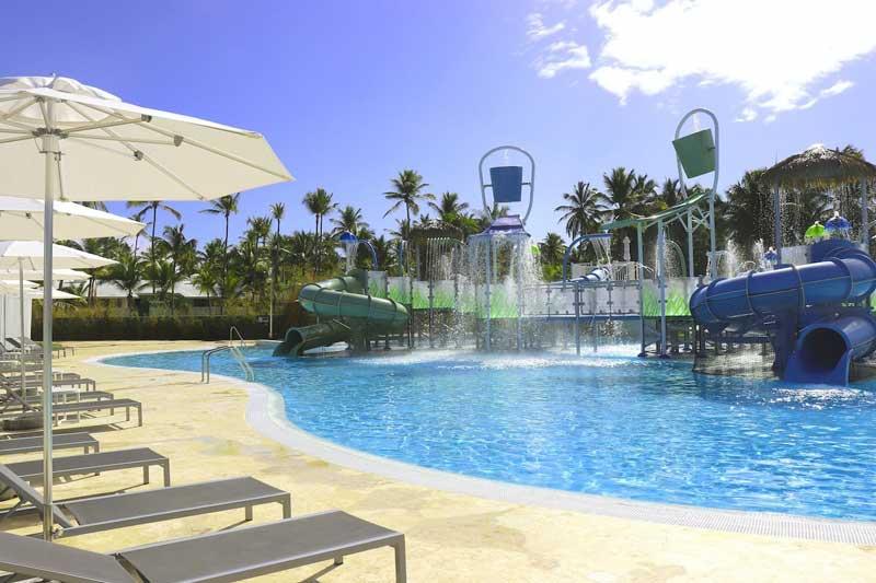 Waterpark / Pool Playground Melia Caribe Beach - Punta Cana, Dominican Republic