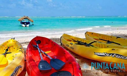 Kayaking in Punta Cana, Dominican Republic