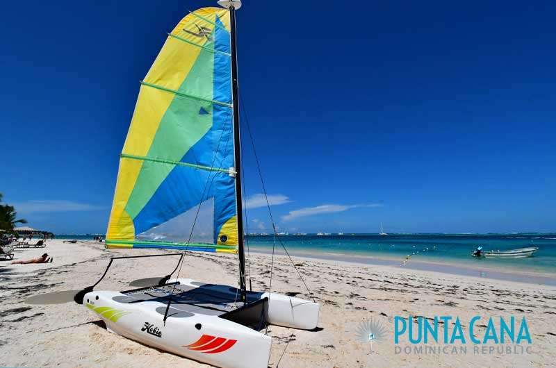 Hobie Cats / Sailing Catamarans - Punta Cana, Dominican Republic