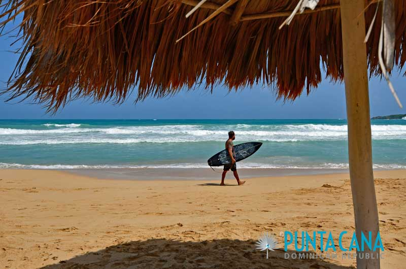 Surfing - Punta Cana, Dominican Republic