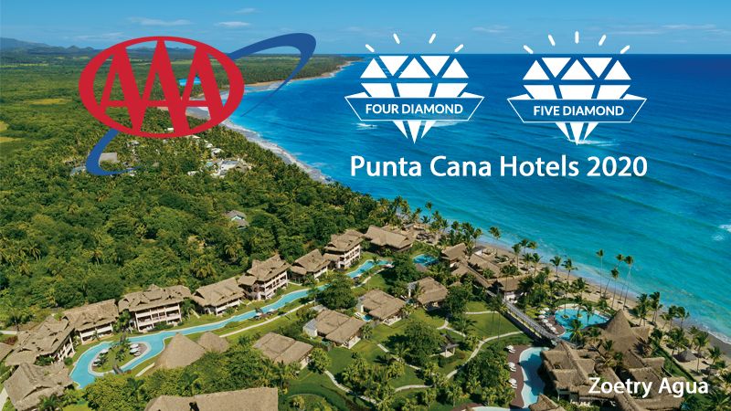 2020 AAA Diamond Hotels in Punta Cana, Dominican Republic - Photo: Zoetry Agua Punta Cana